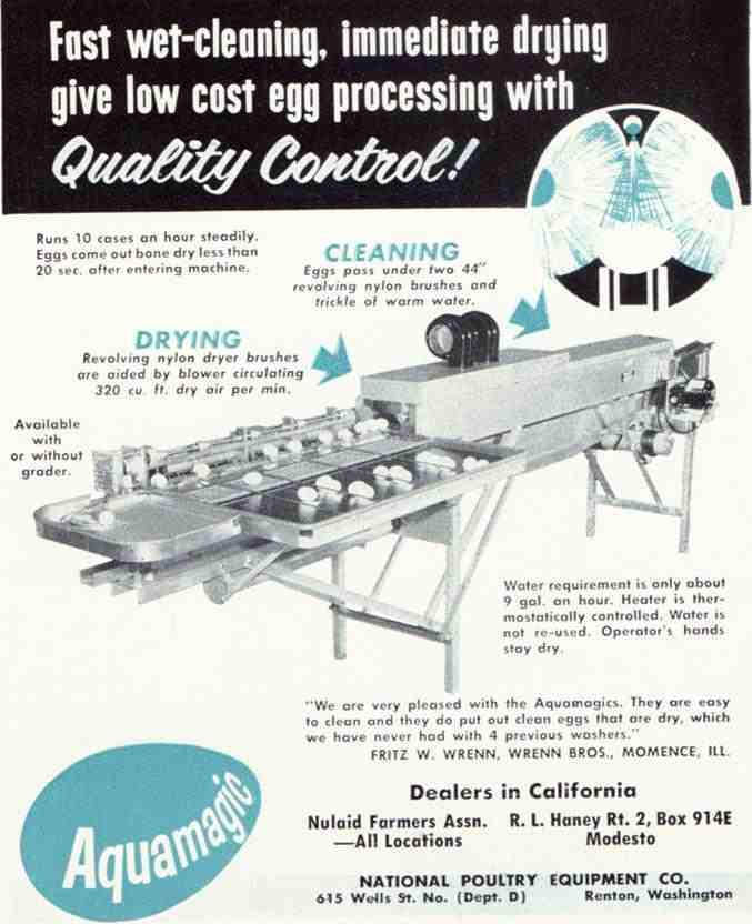 Aquamagic/Sani-Touch Egg Washer [Videos] | Practical Poultry Tips