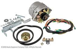 6v to 12v alternator conversion kit for ford tractors