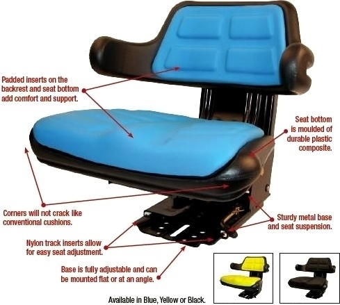 aftermarket tractor seat