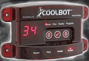 coolbot walk-in refrigerator controller