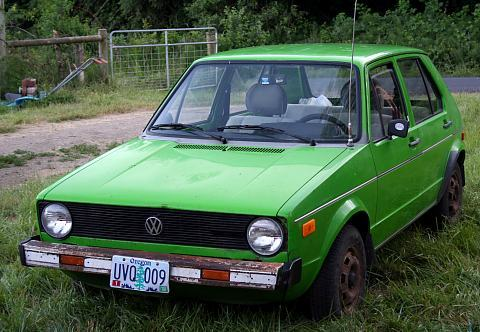 My 1975 VW Rabbit